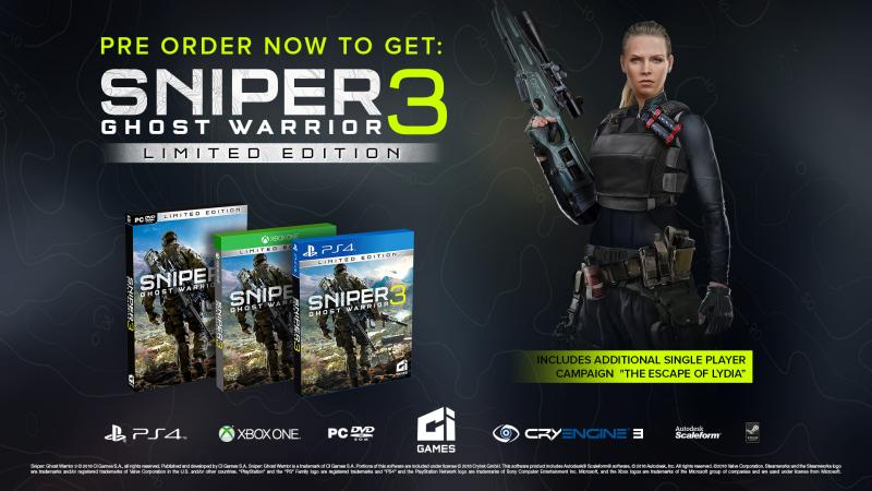 Sniper Ghost Warrior 3 - PreOrder