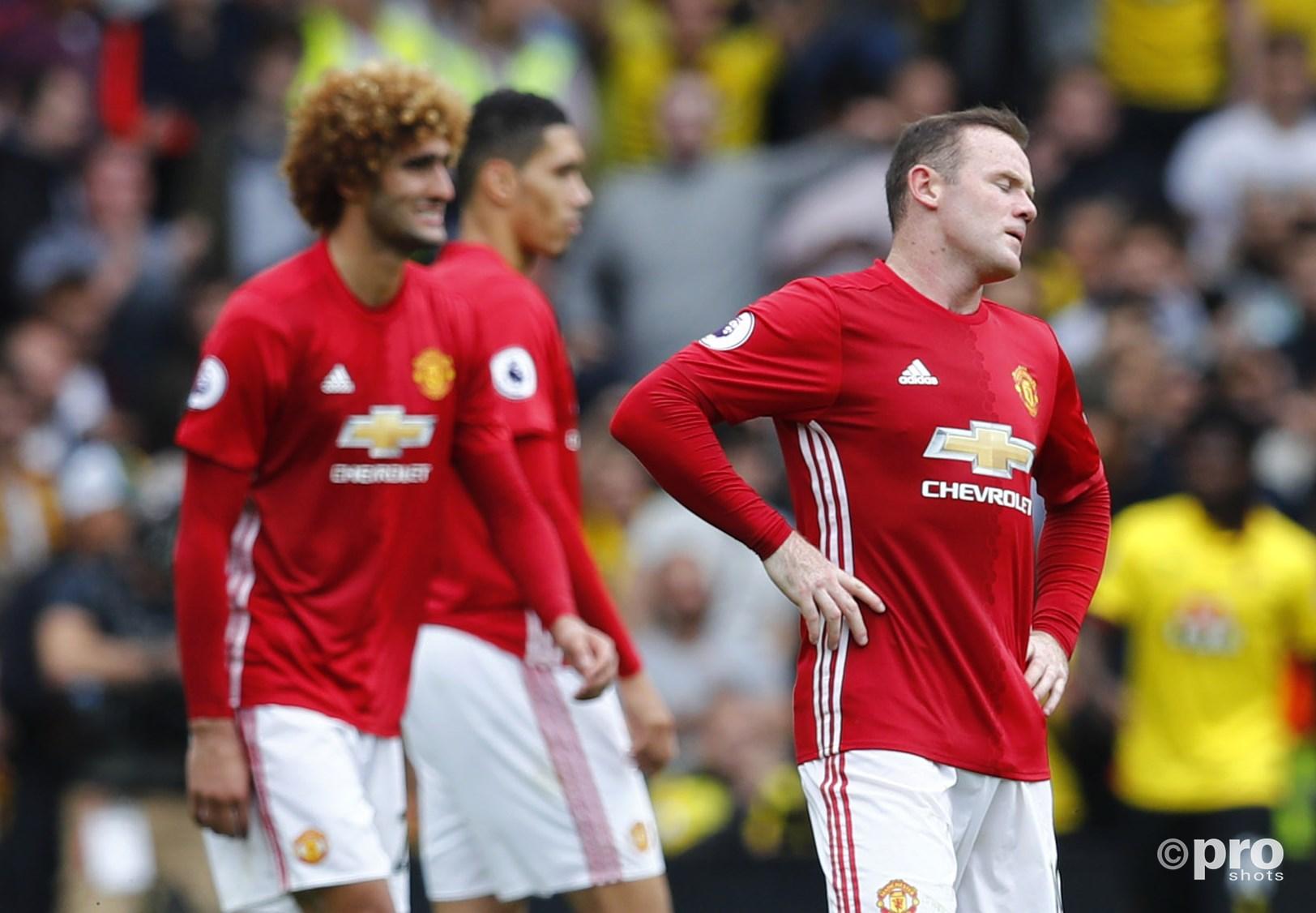 Weer geen drie punten voor Manchester United. (PRO SHOTS/Action Images)