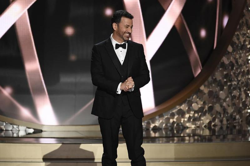 Jimmy Kimmel als host van de 68e Emmy Awards
