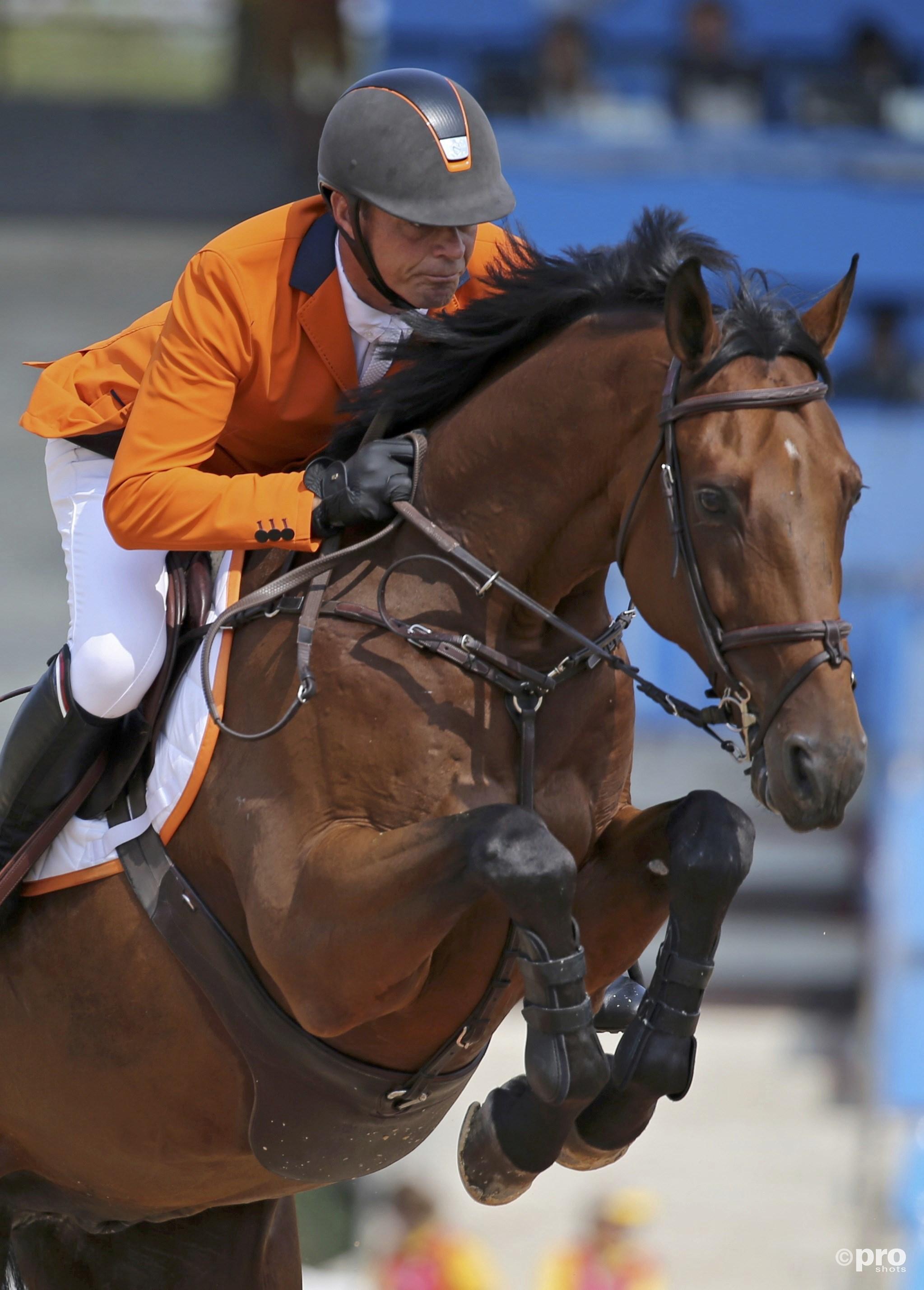 Jeroen Dubbeldam tijden de Olympische Spelen voorlopig het laatst op Zenith. (PRO SHOTS/Action Images)