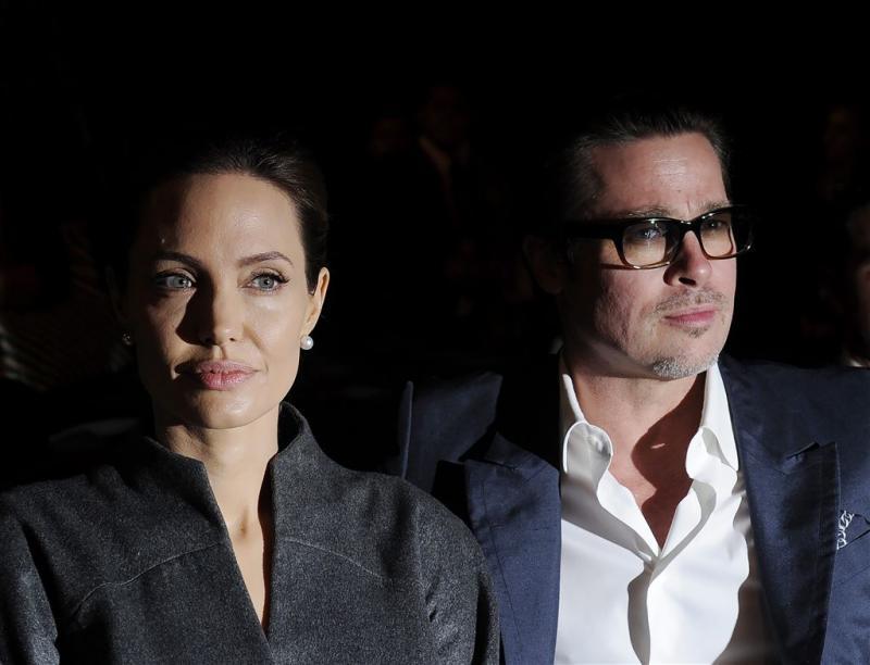 'Brad Pitt woedend op Angelina Jolie'