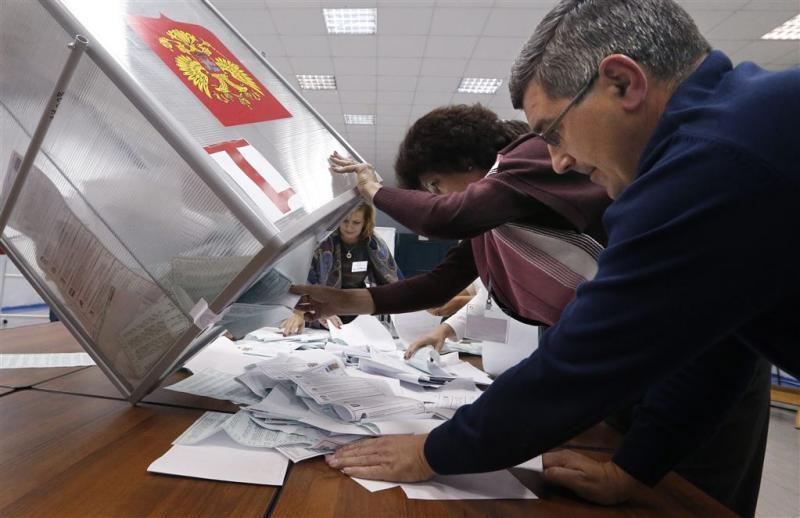 Russische kiesraad constateert fraude