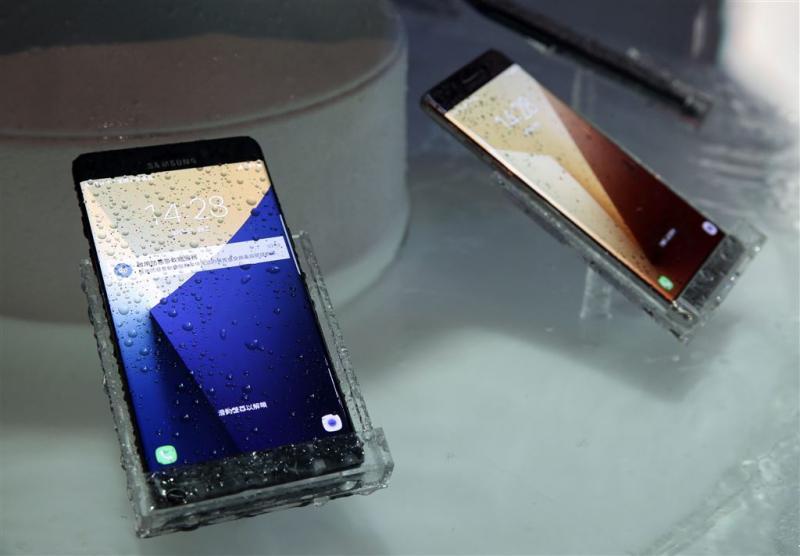 Vervanger voor helft Galaxy Note 7's in VS
