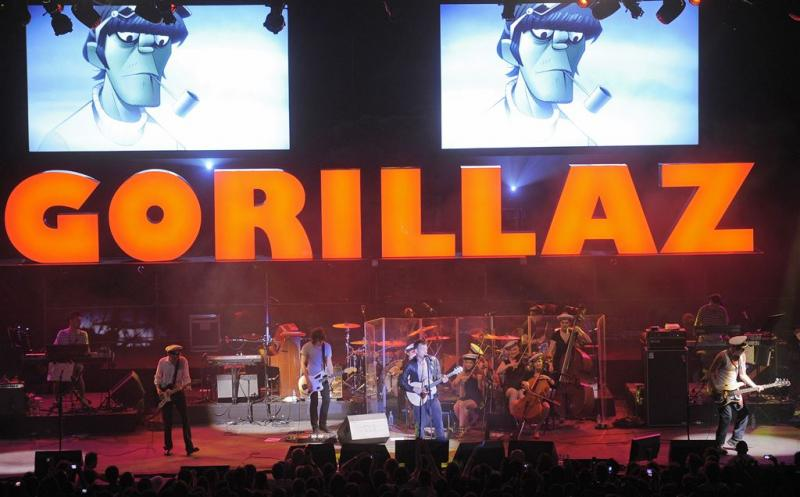 Band Gorillaz lanceert nieuwe Instagram
