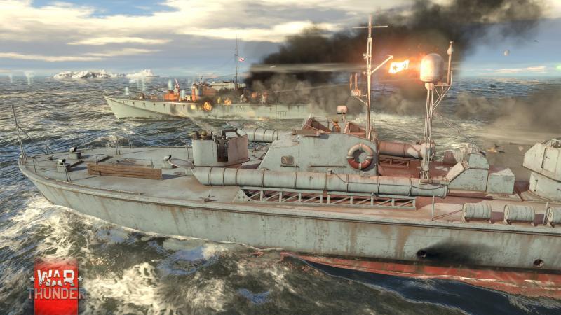 War Thunder - Kinghts of the Sea - Zeeslag