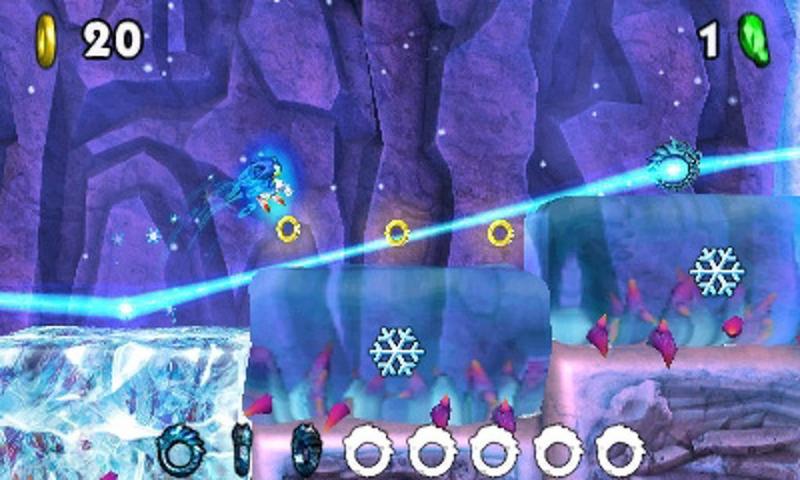 Sonic Boom: Fire & Ice ijs