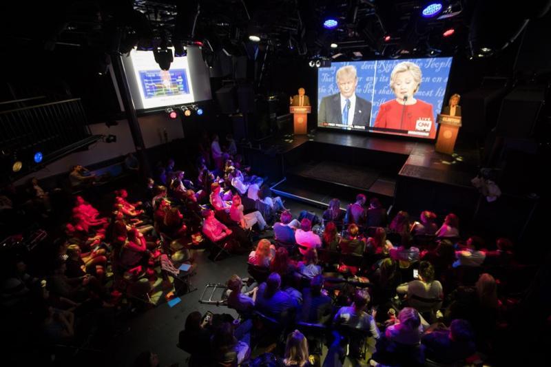 CNN: kijkers gaven voorkeur aan Clinton