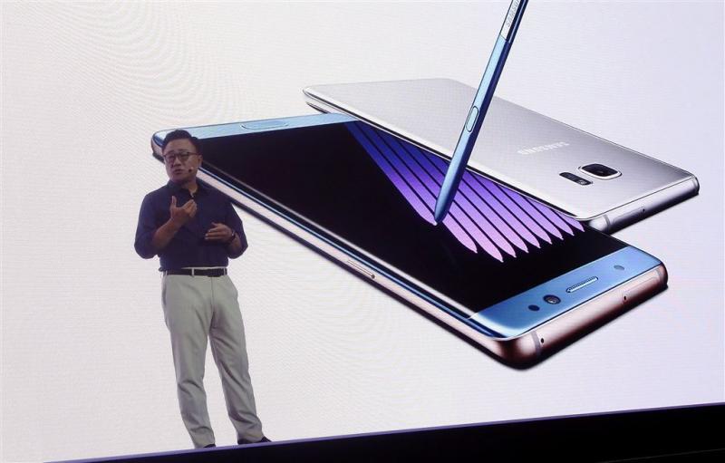 'Brand in nieuwe batterij Note 7'