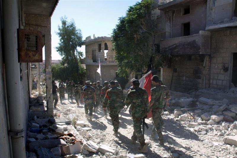 Groot offensief regeringsleger in Aleppo