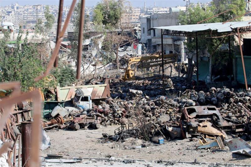 HRW: leger Syrië gebruikte chemische wapens