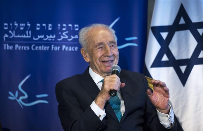 Israëlische ex-president Peres overleden