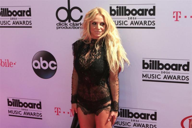 Britney high door wietrokende concertgangers