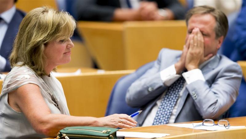 Pia Dijkstra in het zonnetje om donorwet