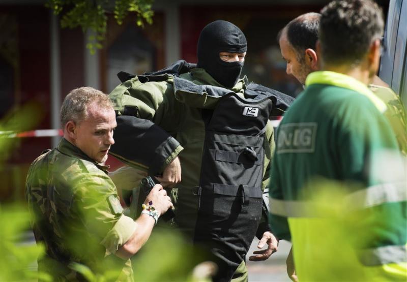 Zware explosieven in Vlaardingen gevonden
