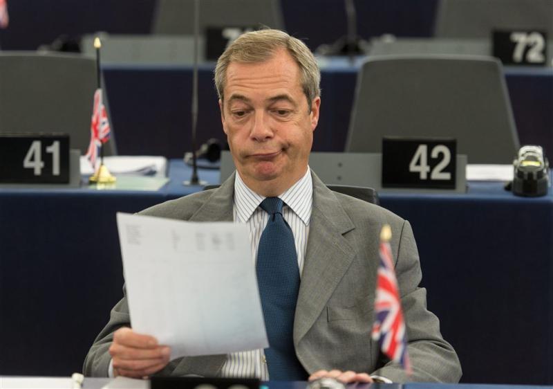 Farage ontkent bij Trump te zijn
