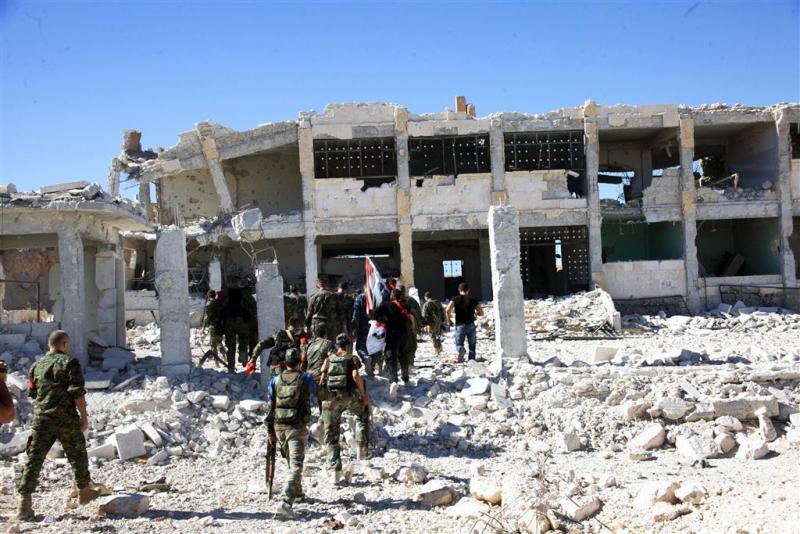 Ziekenhuis in Aleppo gebombardeerd