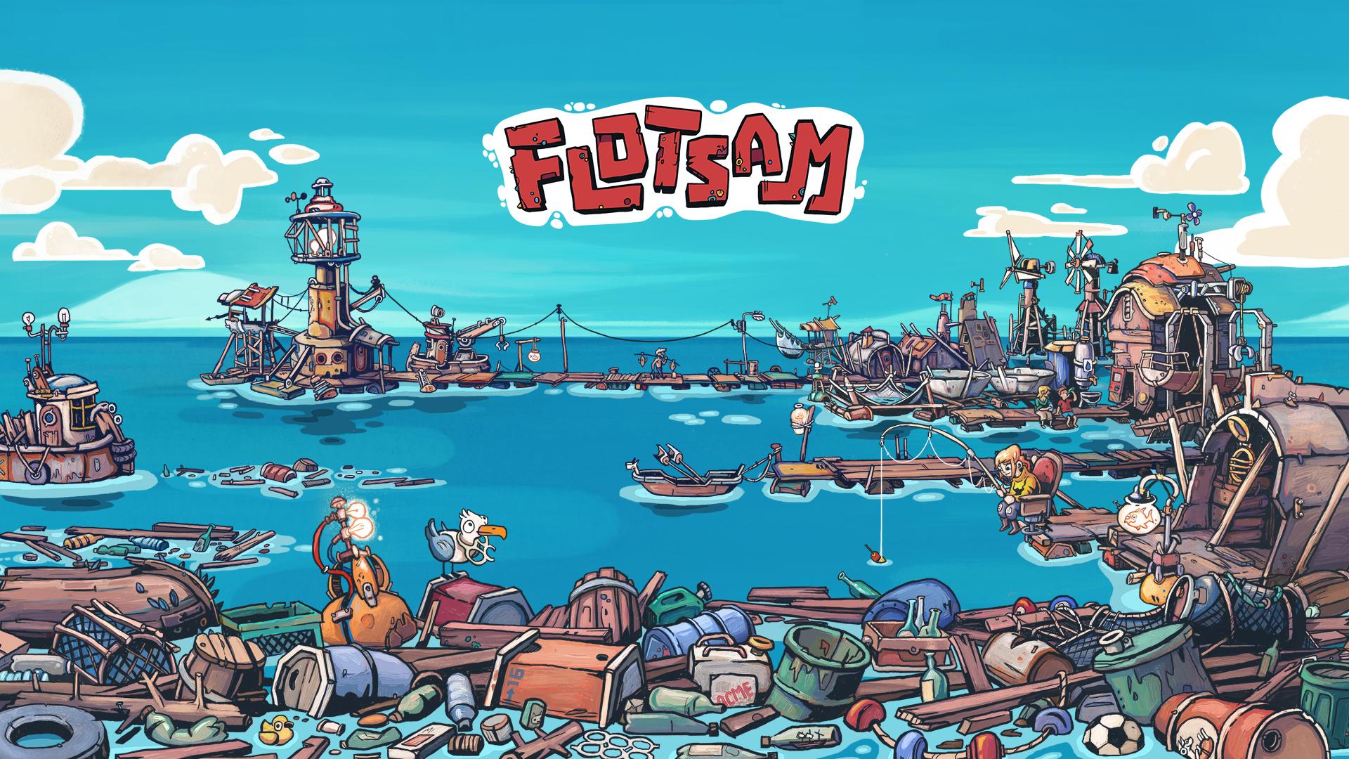 Flotsam - Wallpaper