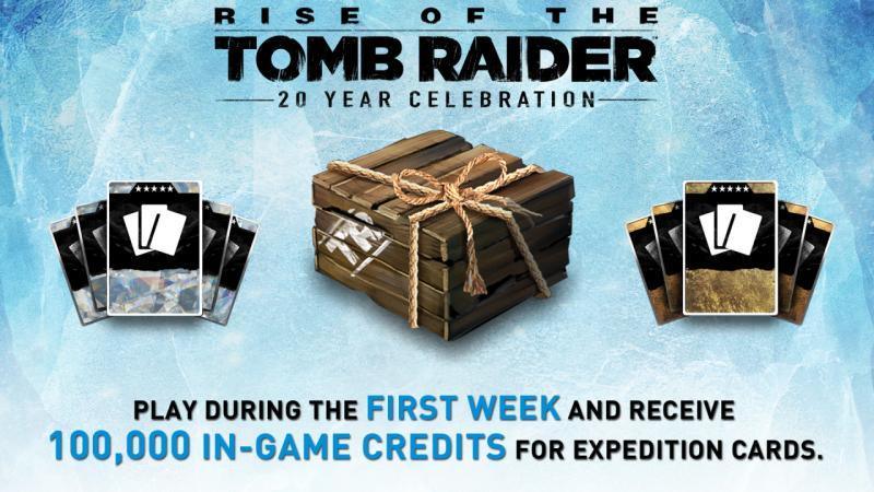 Rise ot Tomb Raider - Gratis credits