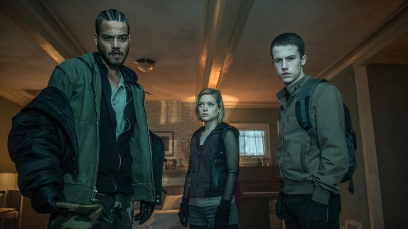 Don't Breathe: Daniel Zovatto, Jane Levy en Dylan Minnette
