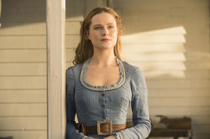 Westworld: Evan Rachel Wood (Foto: HBO)