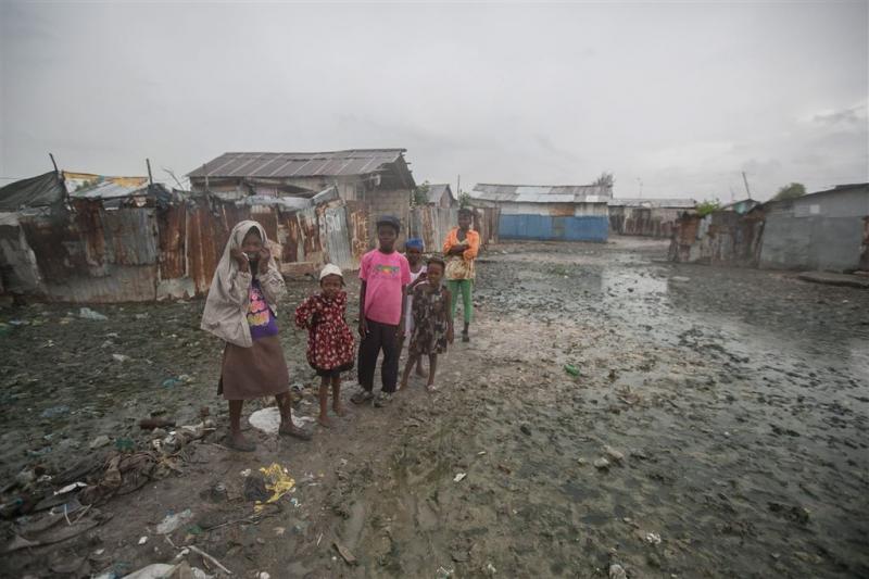 Orkaan Matthew treft Haïti vol