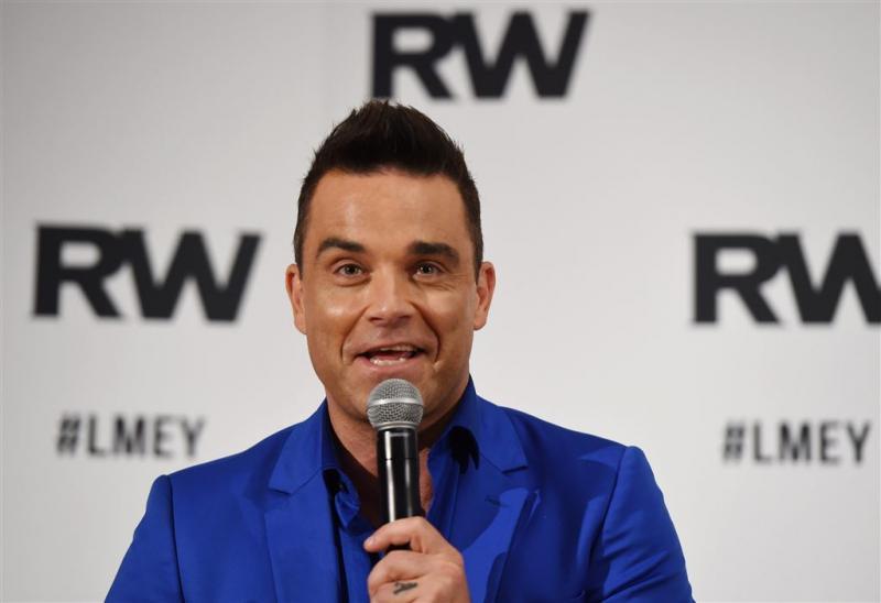 Robbie Williams krijgt Britse Icon Award