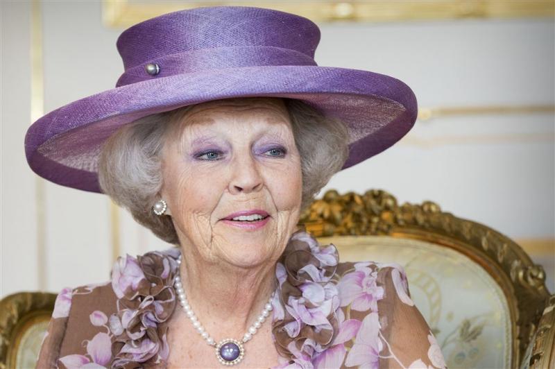 Prinses Beatrix weer thuis
