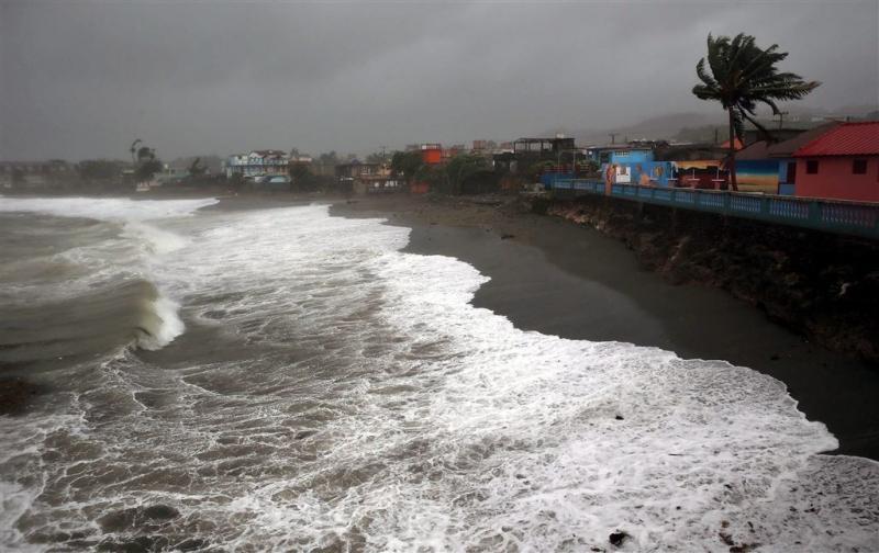 Orkaan Matthew onderweg naar Amerika