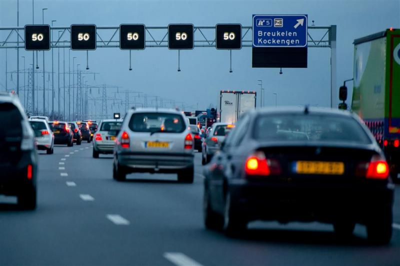 Zeer veel vertraging op A2 richting Amsterdam