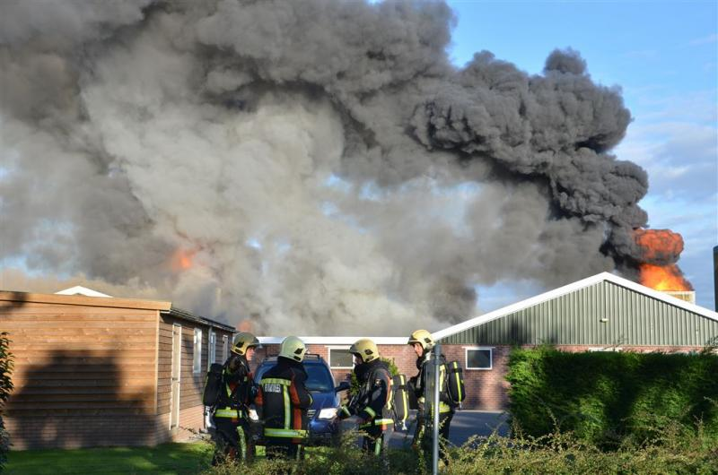 60.000 kippen dood na brand Waddinxveen