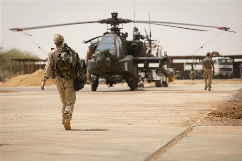 Helikopters mogelijk toch langer in Mali