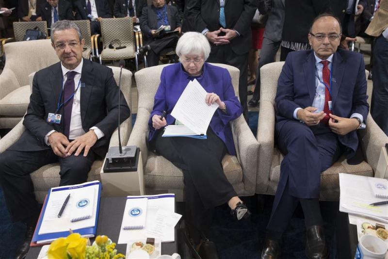 VS vragen Europa op te schuiven bij IMF
