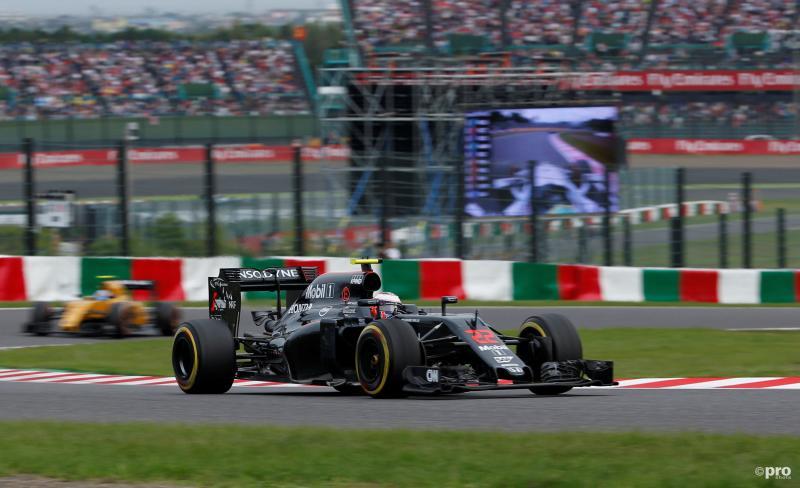 Button kwam slechts als achttiende over de finish (Pro Shots / Action Images)