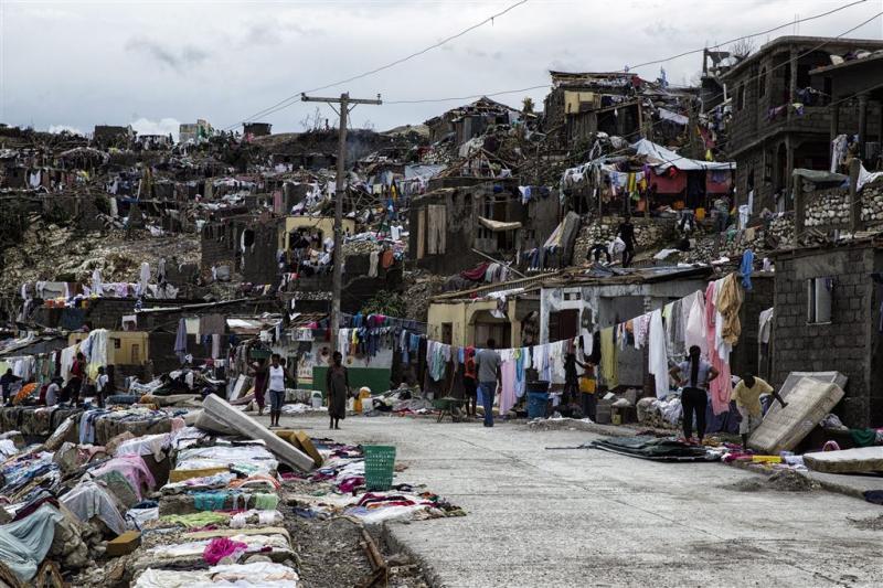 Haïti neemt toevlucht tot massagraven