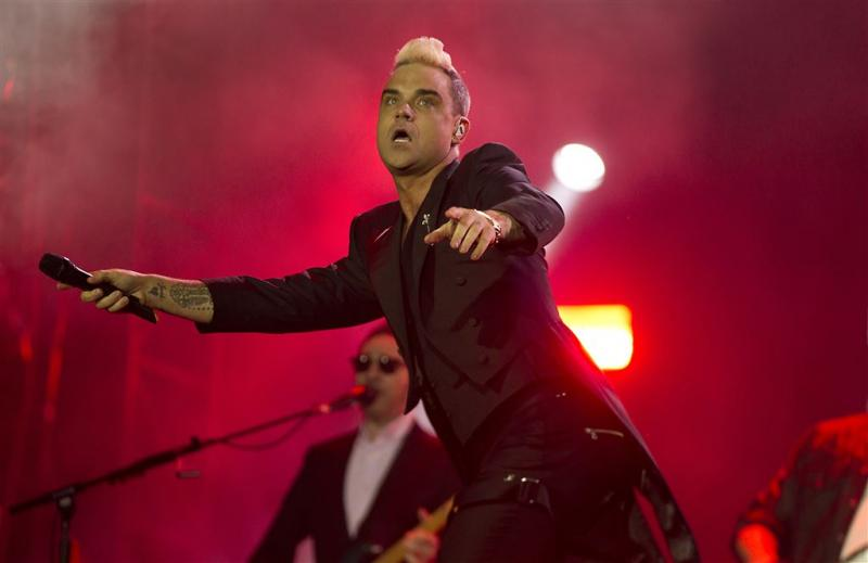 Robbie Williams heeft last van artritis