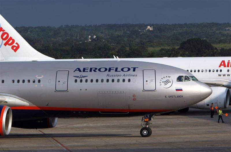 Russisch vliegtuig doorzocht na bommelding