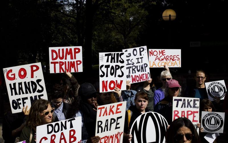Al vier vrouwen beschuldigen Donald Trump