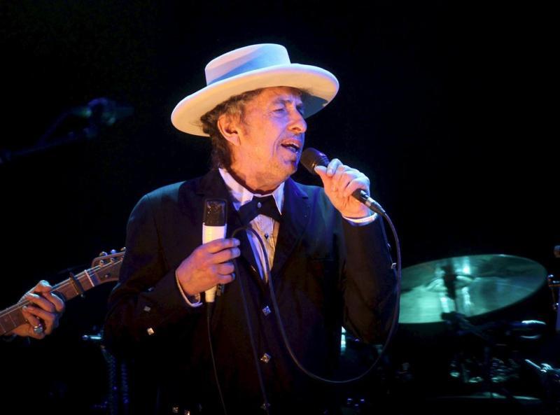 Bob Dylan wint Nobelprijs voor Literatuur