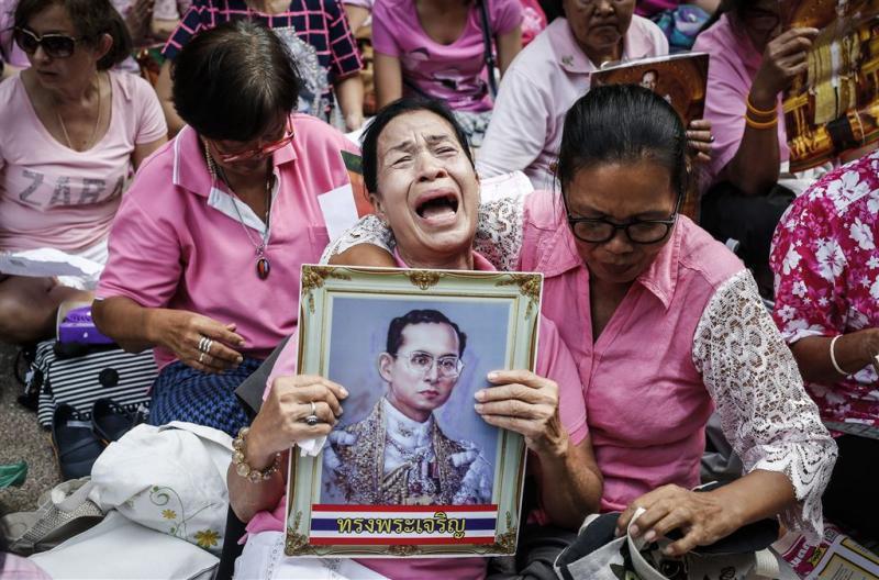 Thaise koning Bhumibol (88) overleden
