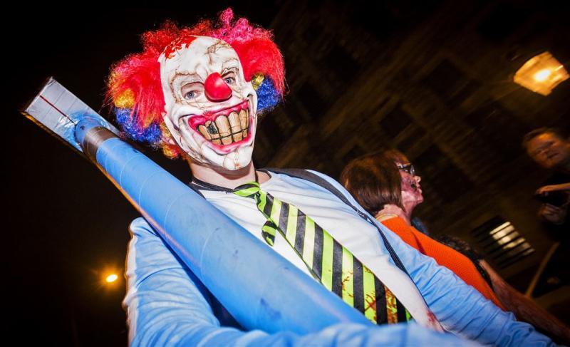 Koekje van eigen deeg voor horrorclown Delft