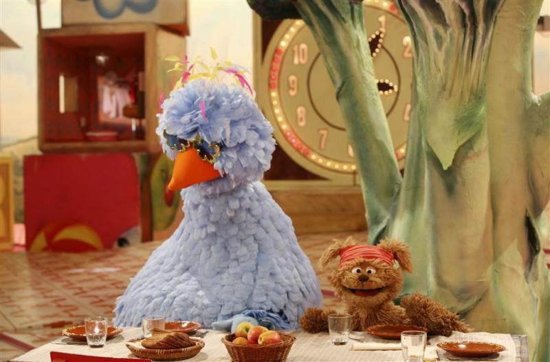 Pino en Tommie willen volwassen Sesamstraat