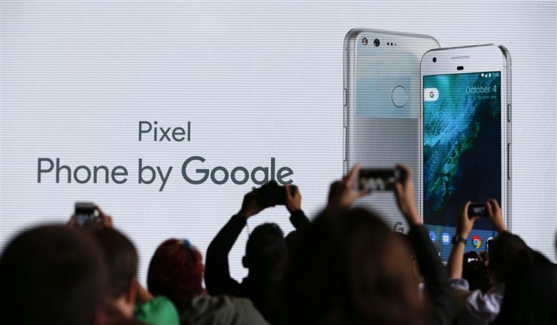 Google verstuurt Pixel-telefoon te vroeg