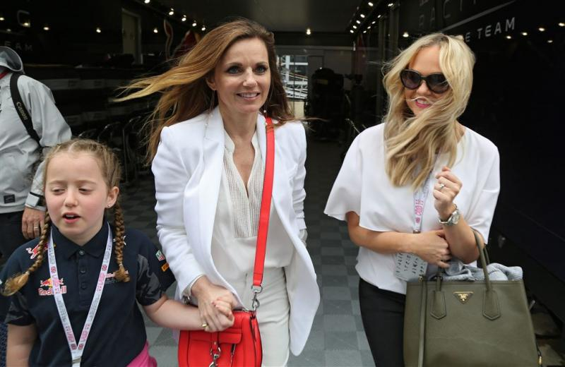 Ruzie Spice Girls gesust door zwangere Geri