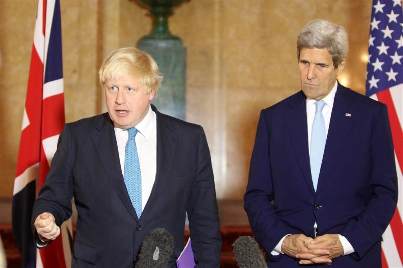 Johnson en Kerry overwegen meer sancties Syrië
