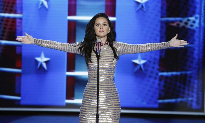 Katy Perry focust zich op kinderen