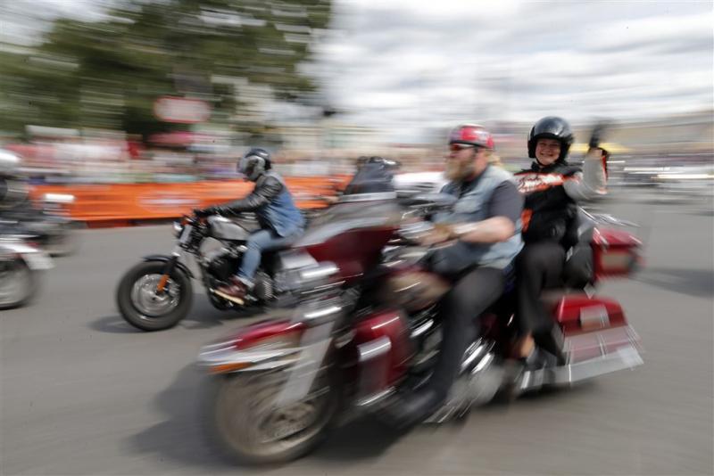 Populariteit Harley-Davidson tanende