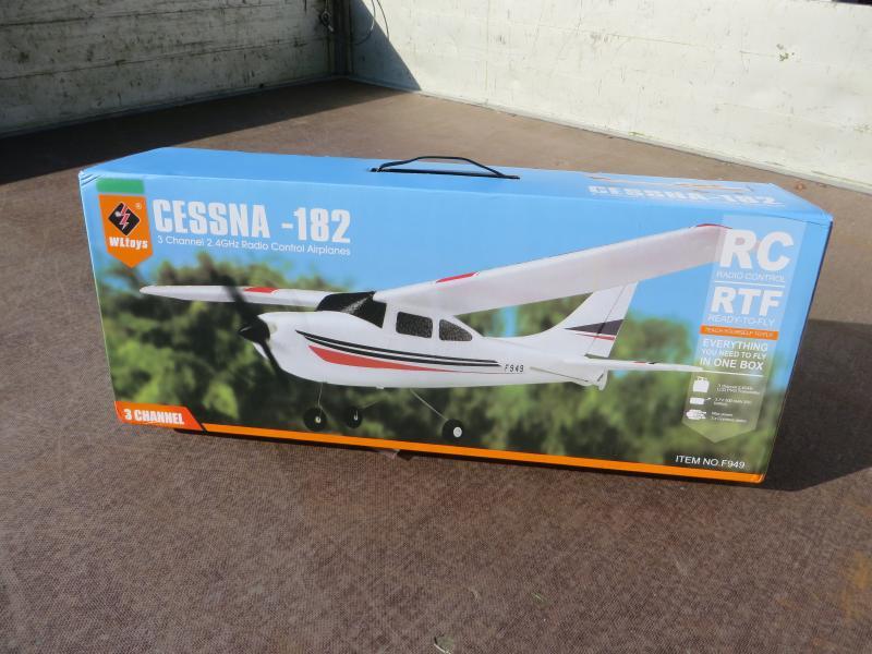 Wltoys F949 Cessna doos