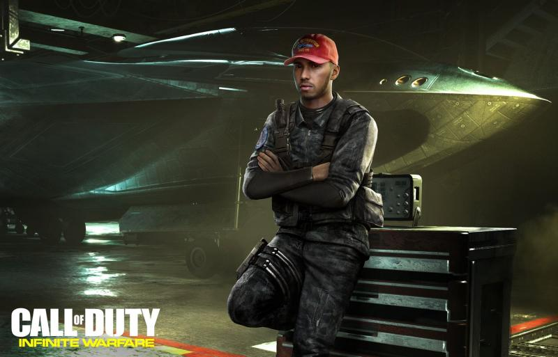 Hamilton in Call of Duty: Infinite Warfare