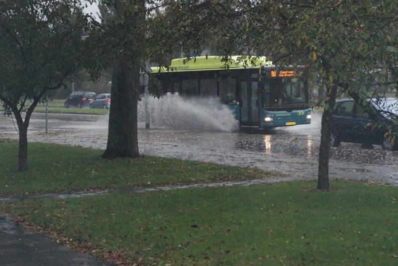 Regenval in Haarlem (Foto: Raymond Dobber)
