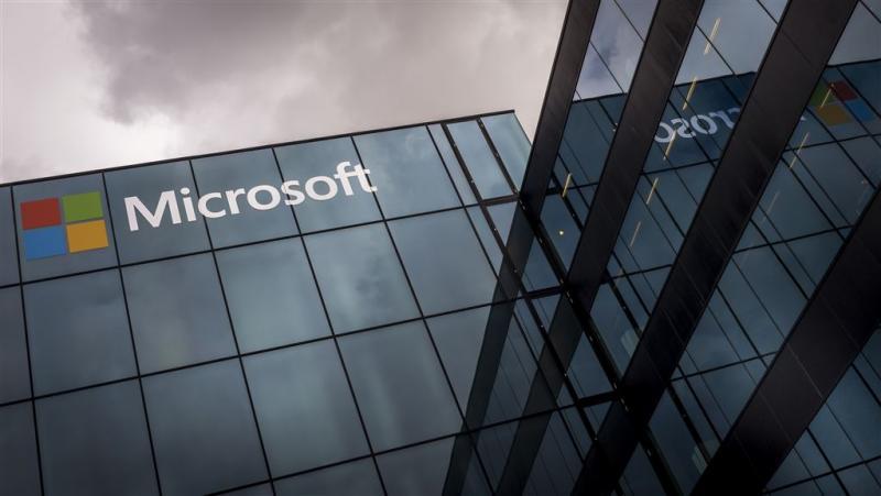 Microsoft ziet winst dalen
